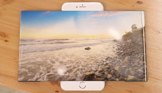 OLED-Widescreen für das iPhone7