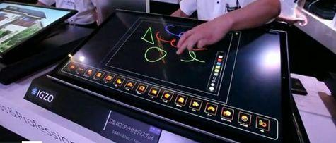 Sharp präsentiert erste 4K IGZO Display Prototypen