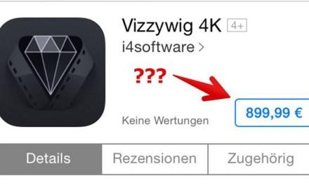 Vizzywig 8xHD: iPhone-App für 4K-Aufnahmen drastisch reduziert