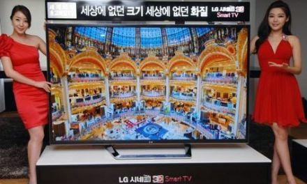 LG 84-Zoll Ultra HDTV 4K Fernseher zur Auslieferung bereit