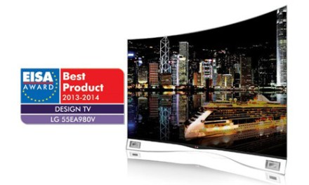 "EISA Award für ""bester Design-Fernseher"" geht an LG's OLED-TV"