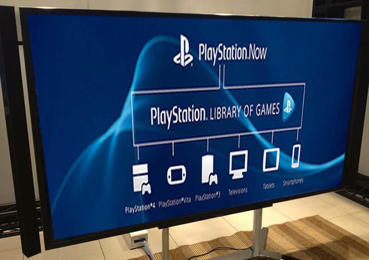 SONY: Bravia 4K TVs mit PlayStation Now angekündigt