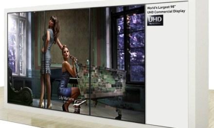 IFA 2013: Samsung stellt 98 Zoll Ultra HD-Videowand und 4K-Monitor vor