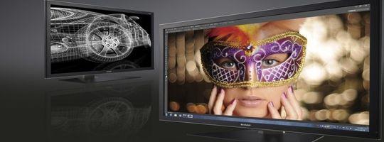Verkaufsstart von Sharps IGZO-Display mit 32 Zoll und 4K-Auflösung beginnt im Februar