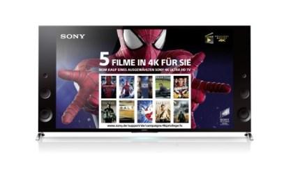 Sony 4K UHD TVs: Fünf 4K-Blockbuster beim Kauf der X9-Serie geschenkt