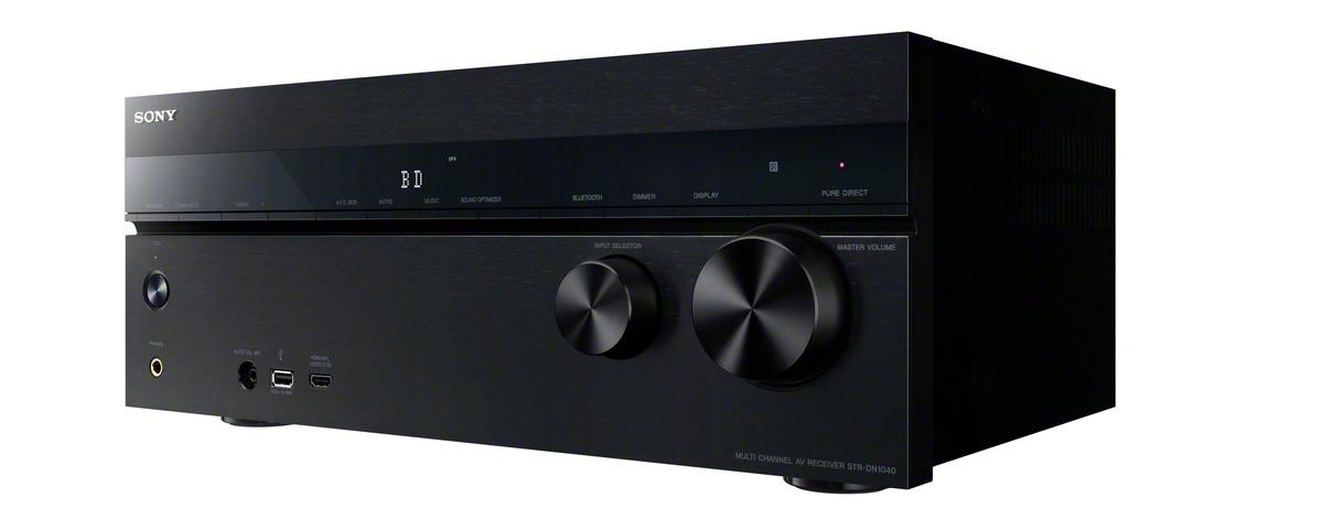 Sony STR-DN1040 – AV-Receiver mit 4K-Upscaling kommt im Juni für 649€