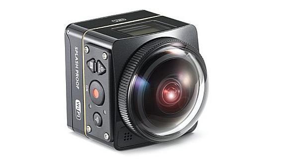 Kodak Pixpro SP360-4K: Panorama-Actioncam mit 4K