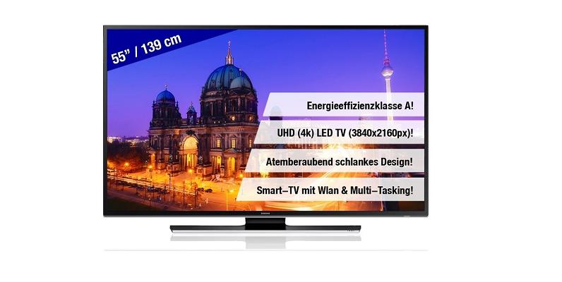 Samsung UE55HU6900 UHD 4K LED TV bei Real im Angebot!