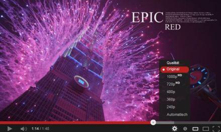 Feuerwerk, Zeitraffer, Schnee und etwas zu essen – Die Ultra HD Videos der Woche