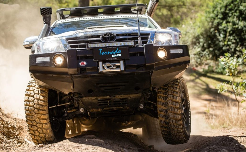 Offroad Hilux with the Best LED light in Australia