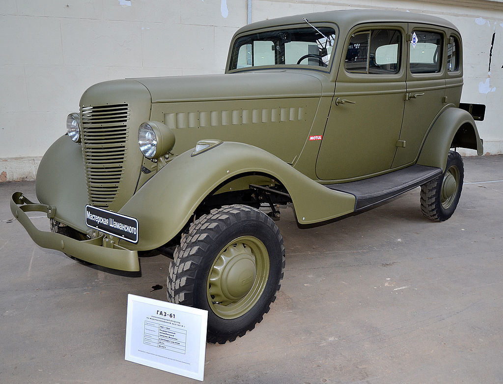 The Speedy Soviet Gaz-61