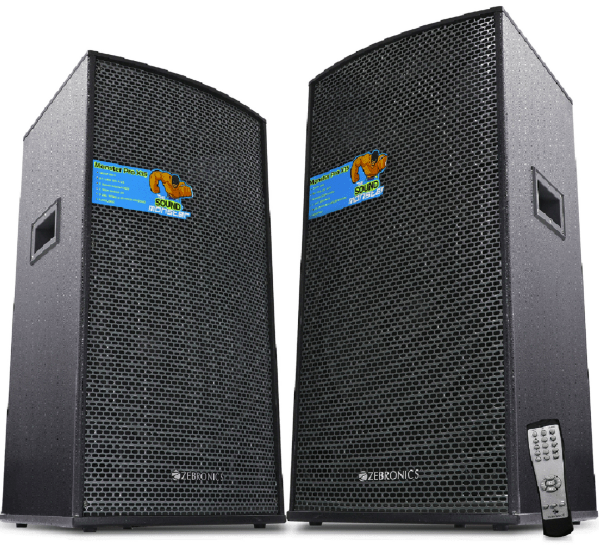Zebronics Launches High Power Dj Speakers For Rs 22 222
