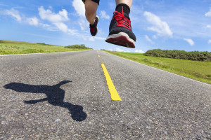 Running harder and faster gets your fitter and stronger - but watch the injures!