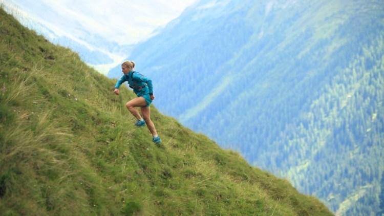 Ildiko Wermescher at the Eiger Trail
