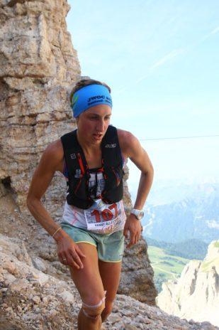 Hanny Allston World Skyrunning Series Dolomites