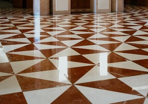 Travertine Floor Cleaning 1