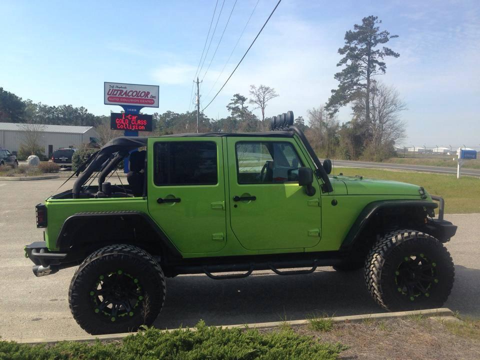 Jeep Repaint
