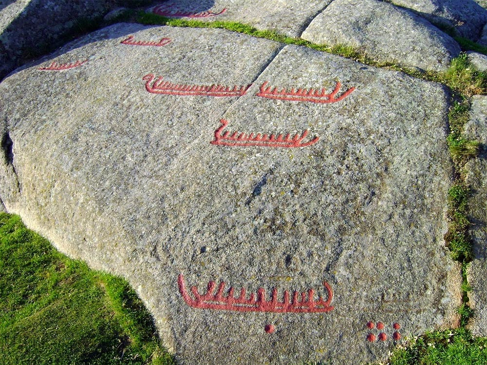Megaliths Bronze Age Petroglyphs, Viking Ships, Norway