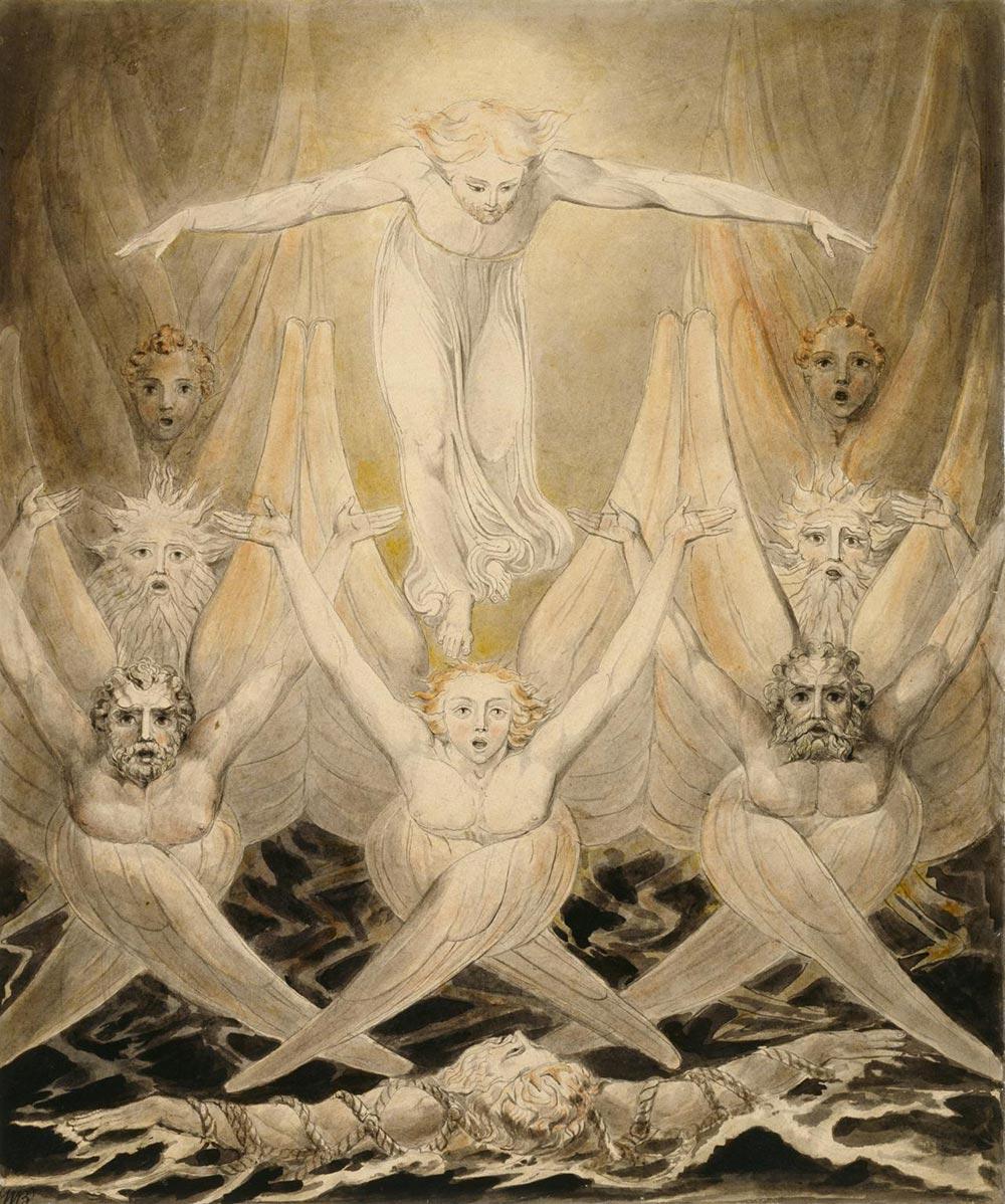 The Bard William Blake