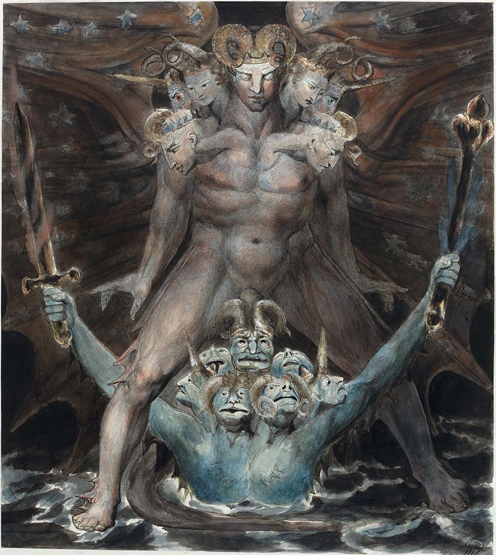 Great Red Dragon William Blake