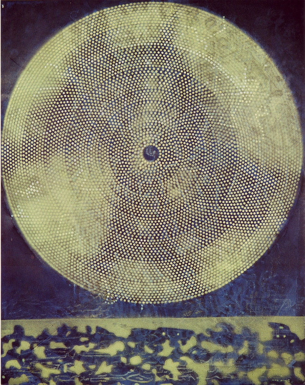 Max Ernst Birth of a Galaxy
