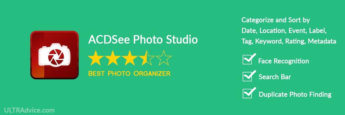 ACDSee Photo Studio - Best Photo Organizing Software - ULTRAdvice.com