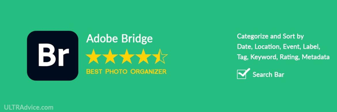 Adobe Bridge - Best Photo Organizing Software - ULTRAdvice.com