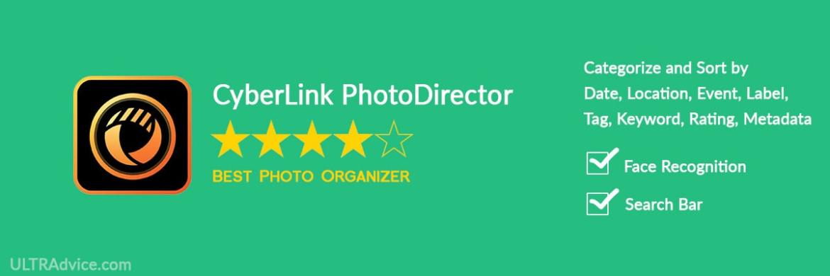 CyberLink PhotoDirector - Best Photo Organizing Software - ULTRAdvice.com