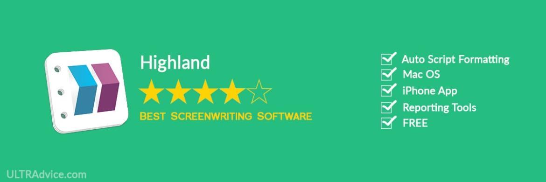 Highland 2 - Best Scriptwriting Software - ULTRAdvice.com