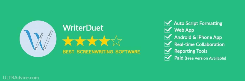 WriterDuet - Best Scriptwriting Software - ULTRAdvice.com