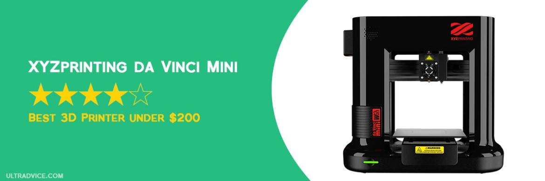 da Vinci Mini 3D Printer - XYZpriting - Best 3D Printer under 200 - ULTRAdvice.com