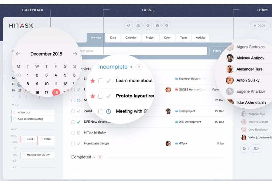 Hitask - Best Free Task Management Software - ULTRAdvice.com-min