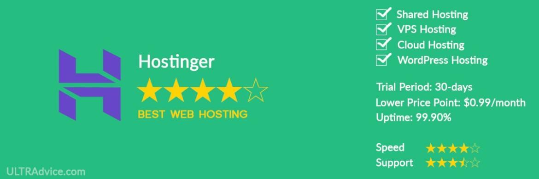Hostinger - Best Web Hosting for Small Business - ULTRAdvice.com