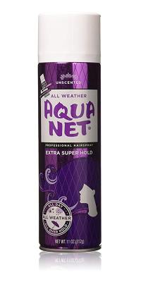 Aqua Net Hair Spray - Best Hairspray for 3D Printing Adhesion Problem