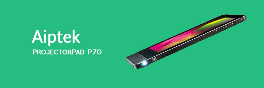 Aiptek ProjectorPad P70 - Best Tablet With Built-In Projector