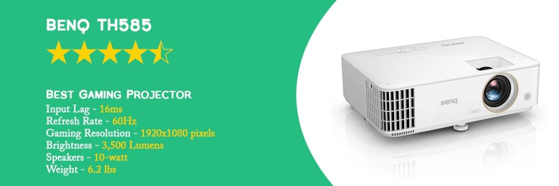 BenQ TH585 - 9 Best Cheap Gaming Projector - ULTRAdvice.com