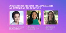 Participantes do webinar de inovação pós pandemia