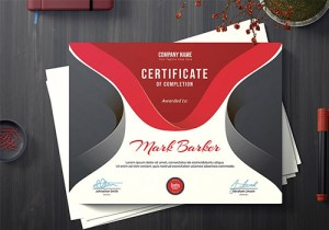 corporate certificate printing service