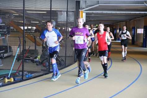 Antero Ignatius, Olavi Kotro ja Kim Sørensen Endurance 24h -kilpailussa 2016 (kuva: Antti Näreaho)