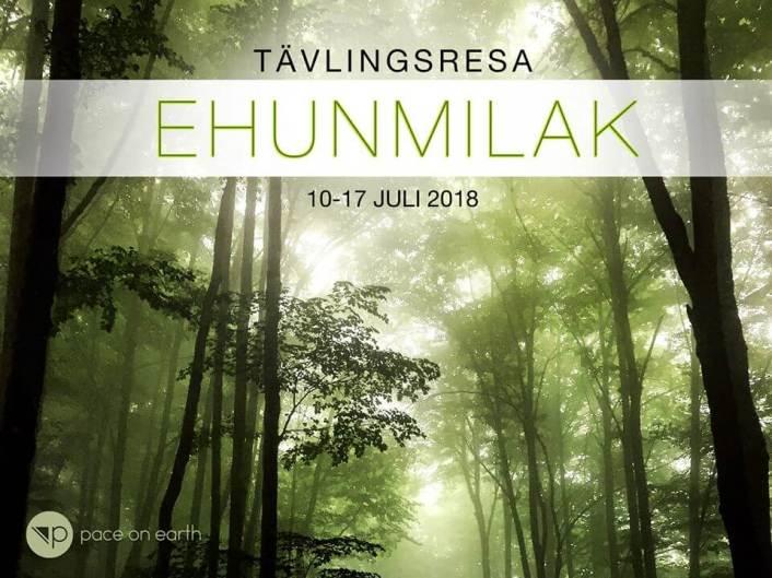 Tävlingsresa Ehunmilak 10-17 juli