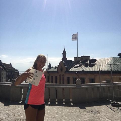Frida Södermark i Helsingborg inför SM 100 km