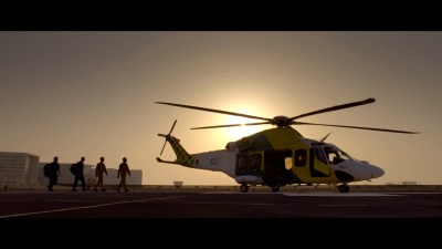 helicopter filming company in qatar