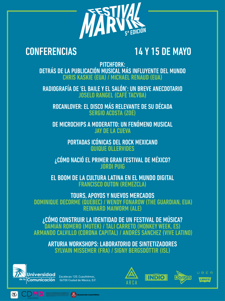 marvin conferencias poster