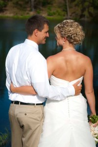 akron ohio beach wedding photography