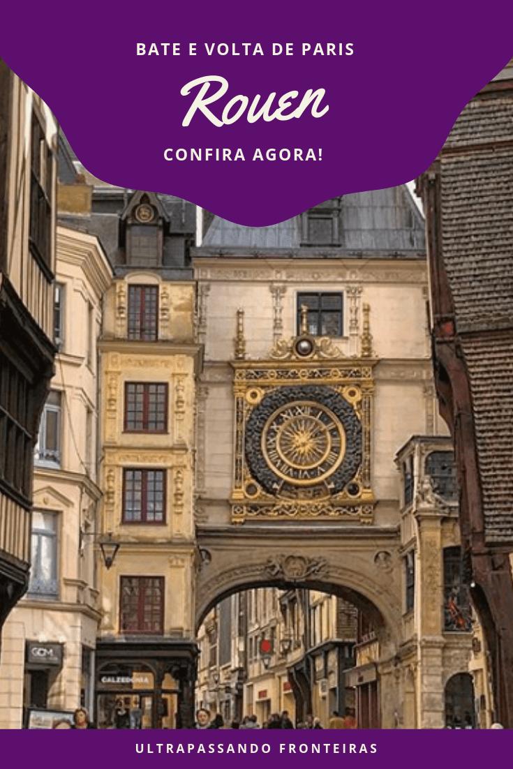 Roteiro de viagem a Rouen, França
