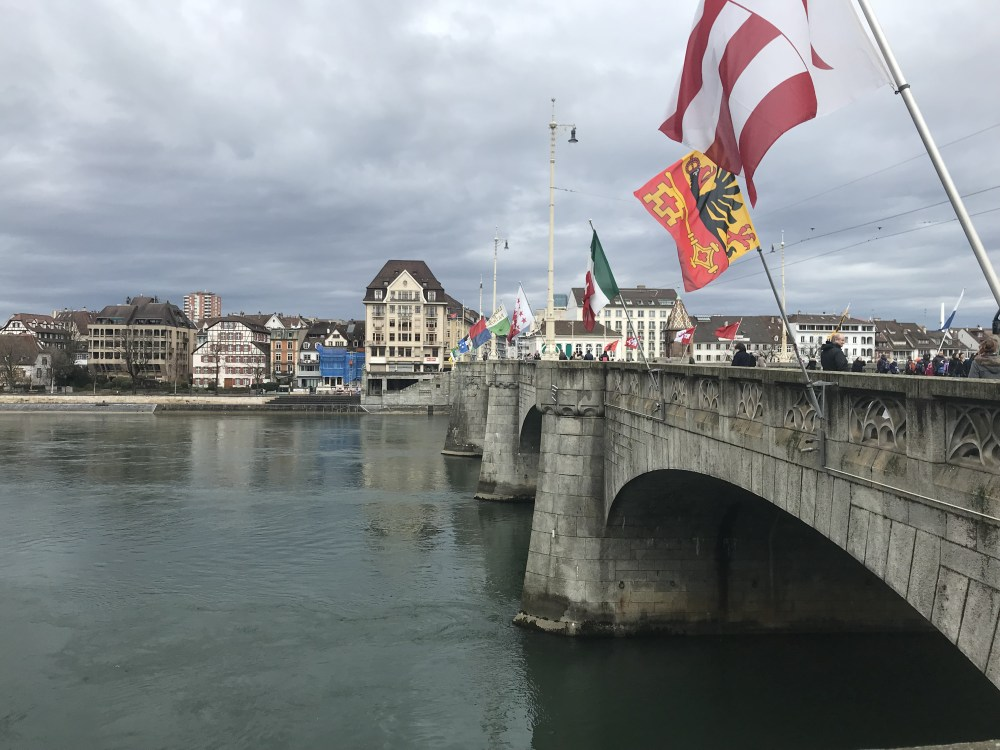Mittlere Brucke: a mais famosa ponte de Basel
