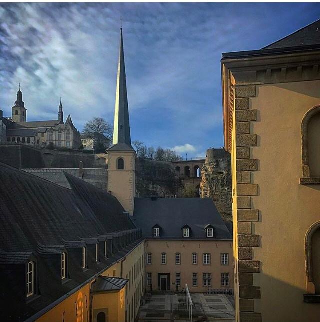Os diferentes níveis da cidade de Luxemburgo