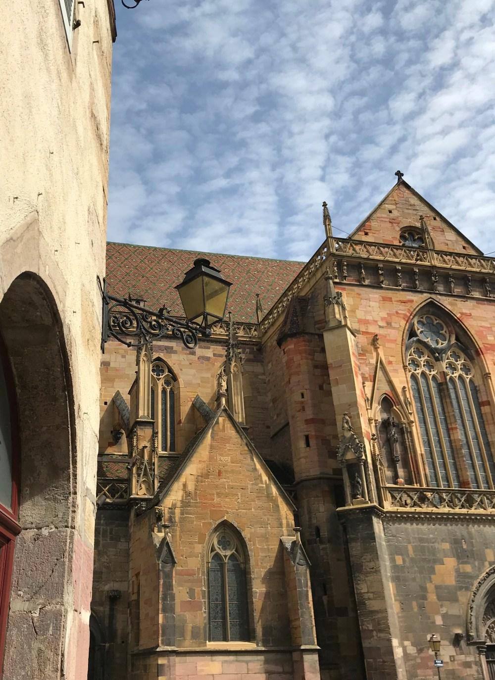 Igreja de Saint Martin, em Colmar