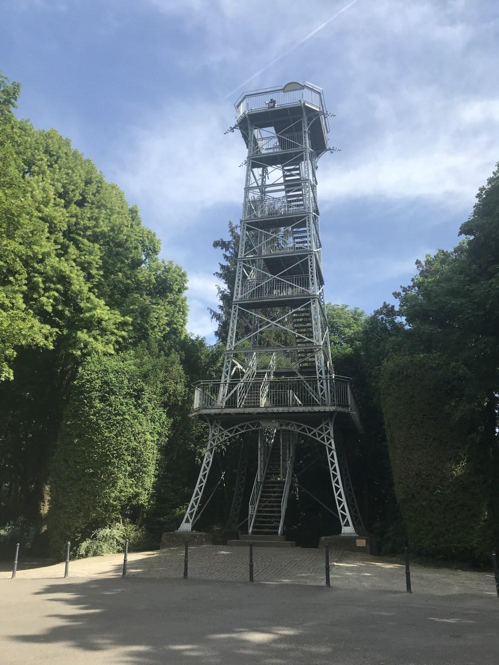 Tour du Belvedère, em Mulhouse