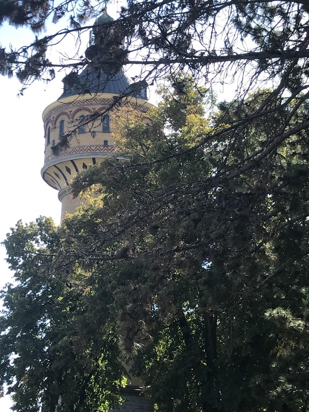 Vemos essa torre de diversos pontos de Sélestat
